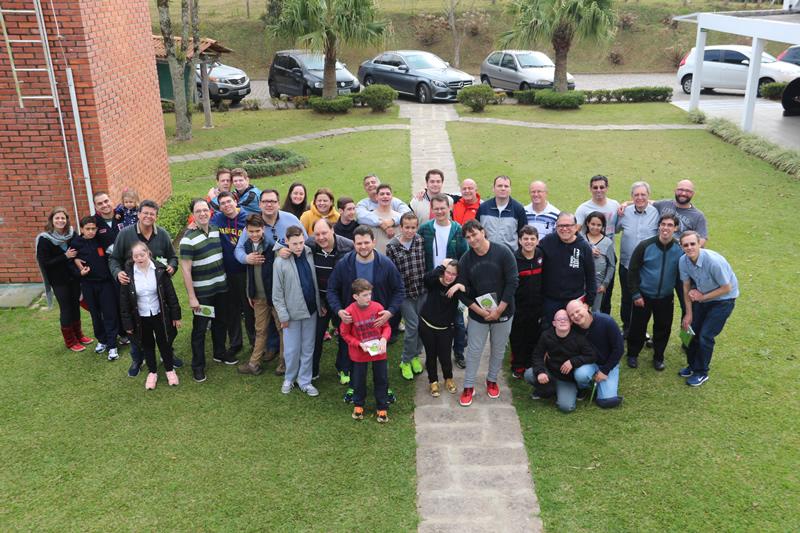 Dia dos Pais no BJ Escola Especial, em Campo Largo (PR)