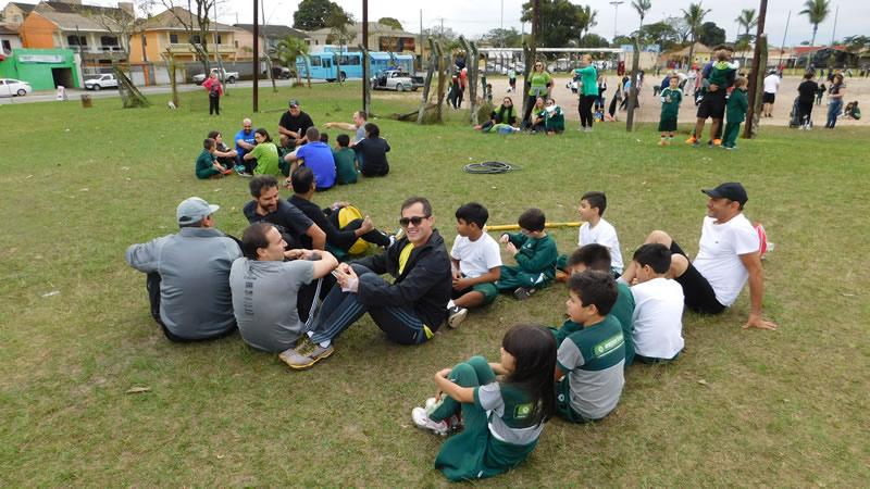 Dia dos Pais no BJ Rosário, em Paranaguá (PR)