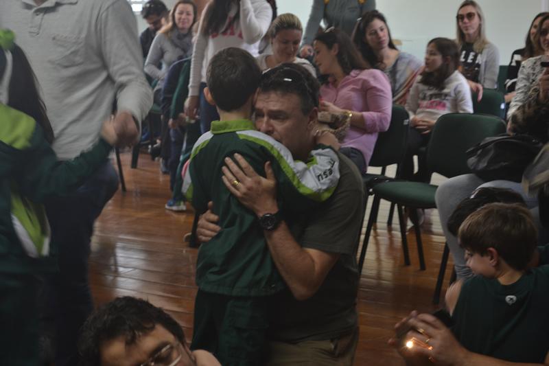 Dia dos Pais no BJ Menino Jesus, em Petrópolis (RJ)