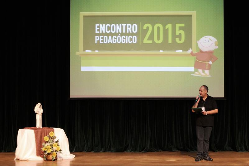Encontro pedagógico do Colégio Bom Jesus, em Curitiba (PR).