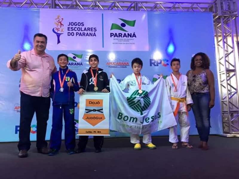 Luca Saçaki - BJ Centro | 3.º lugar na categoria até 36 kg