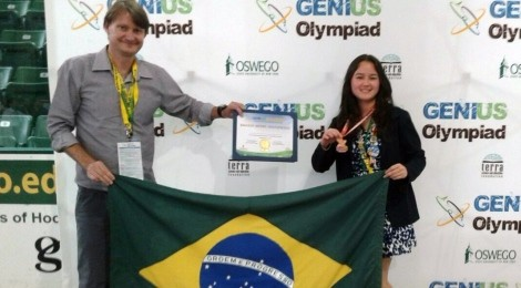 Aluna do Bom Jesus é finalista na Olimpíada dos Gênios