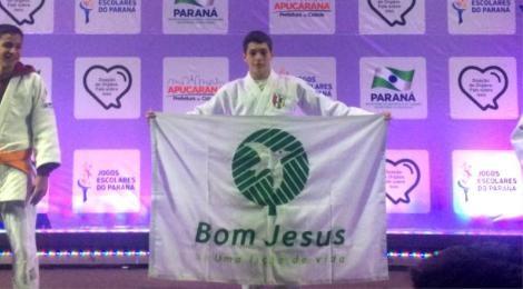 Bom Jesus é campeão de judô dos Jogos Escolares do Paraná
