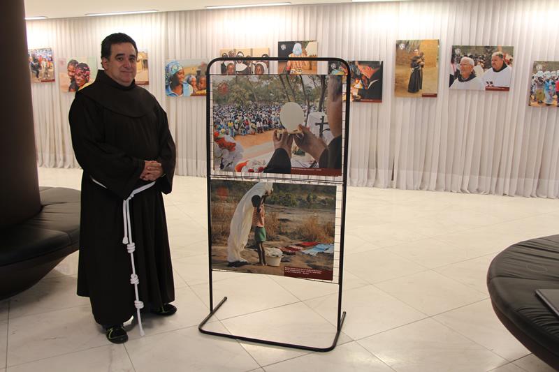 Frei Alexandre Magno, coordenador da Frente da Evangelização Missionária, esteve em Angola de 2002 a 2009.