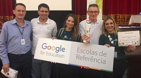 Bom Jesus Itajaí é uma Escola de Referência Google
