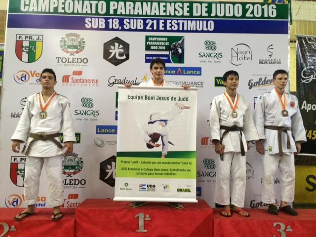 Herus Neto, campeão paranaense Sub-18