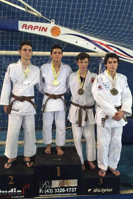 Herus Neto, 3.º lugar no Campeonato Paranaense Marrom e Preta
