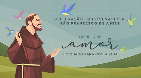 Convite: Missa de São Francisco