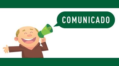 Comunicado: atividades digitais não serão realizadas no feriado de 1.º de maio
