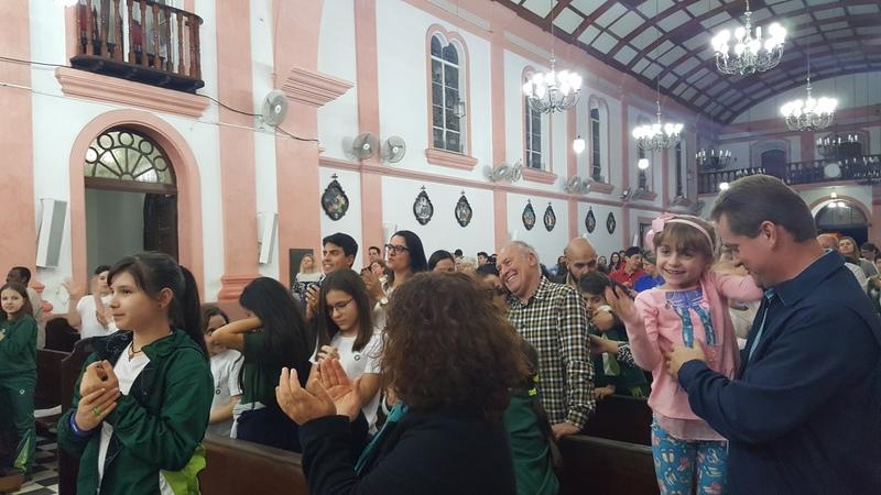 Colégio Bom Jesus Rosário, em Paranaguá (PR)