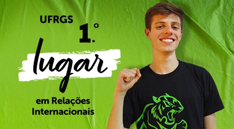 Aluno do Colégio Bom Jesus de Porto Alegre é 1.° lugar em Relações Internacionais na UFRGS