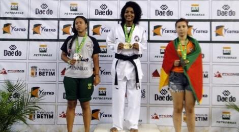 Aluna do Bom Jesus na Seleção Brasileira de Taekwondo