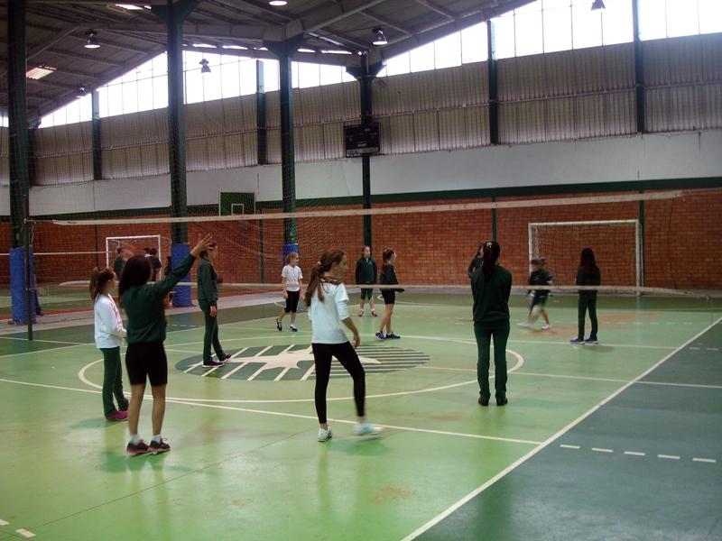 Semana Cultural e Esportiva no Bom Jesus Aurora, em Caçador (SC).