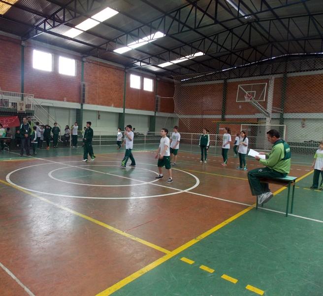 Semana Cultural e Esportiva no Bom Jesus São José, em Rio Negro (PR).