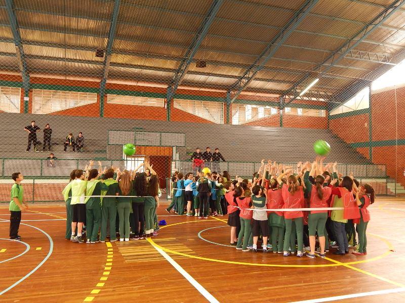 Semana Cultural e Esportiva no Bom Jesus São José, em Vacaria (RS).