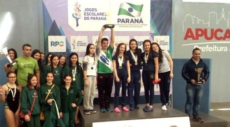Natação: Bom Jesus é campeão dos Jogos Escolares do Paraná