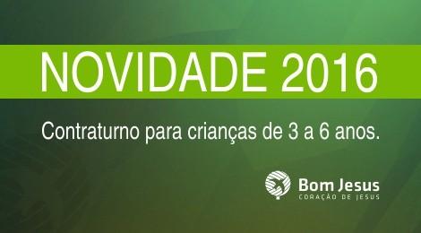 Bom Jesus de Florianópolis lança contraturno em horário integral