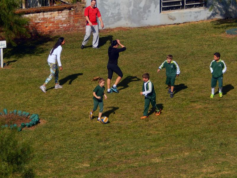 Brincando em Família no Bom Jesus São José, em Vacaria (RS).