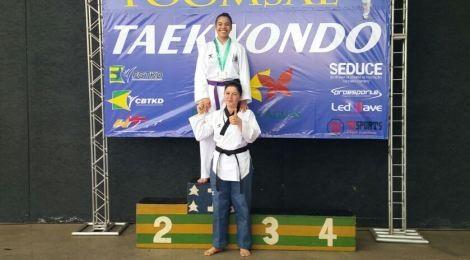 Aluna do Bom Jesus é campeã juvenil de Taekwondo