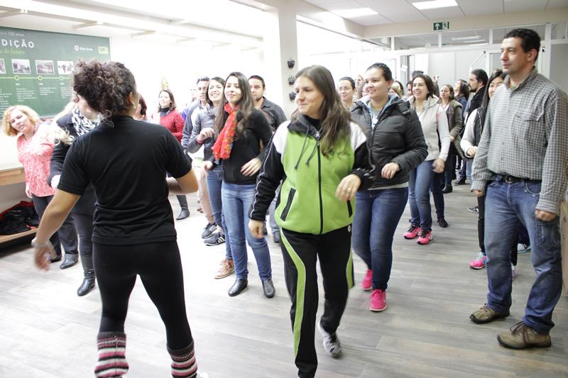 Dia do Desafio no Prédio Lamenha Lins, em Curitiba (PR).