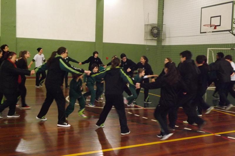 Dia do Desafio no BJ Sévigné, em Porto Alegre (RS).