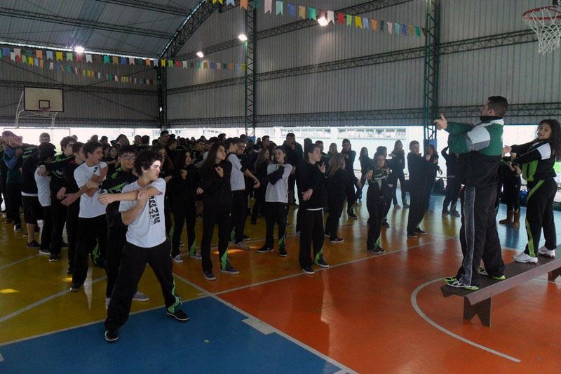 Dia do Desafio no BJ Lourdes, em Curitiba (PR).