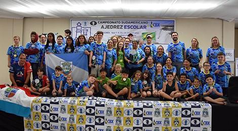 Bom Jesus Santo Antônio conquista o Sul-Americano de Xadrez 2019