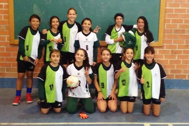 Futsal feminino do Bom Jesus.