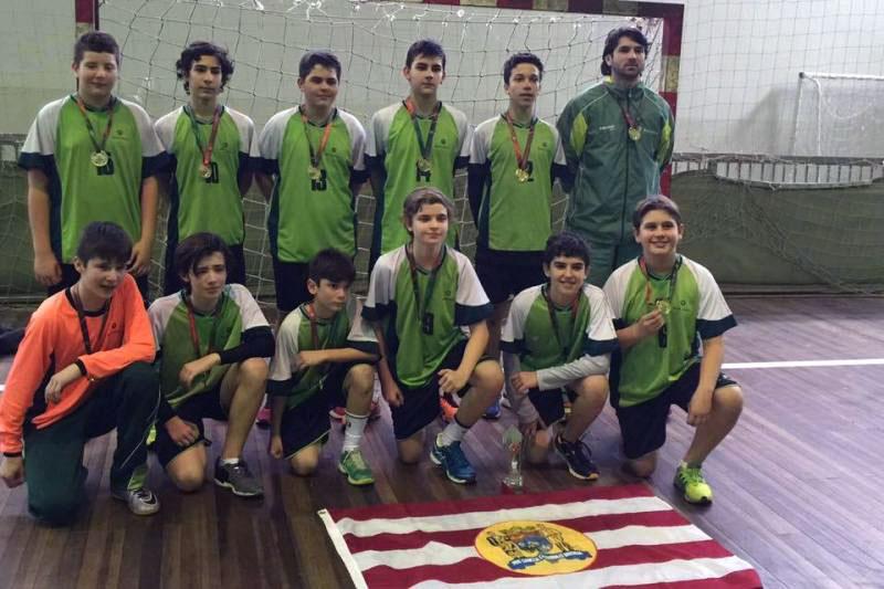 Handebol masculino do Bom Jesus é campeão dos Jogos Escolares de Santa Catarina - Regional Leste-norte.
