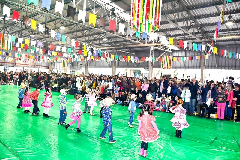 Festa Junina no Bom Jesus Água Verde, em Curitiba (PR)