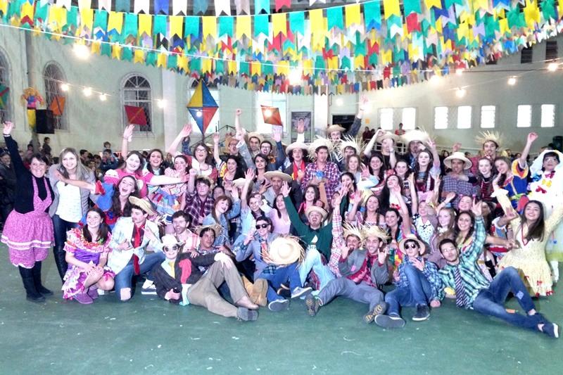 Festa Junina no Bom Jesus Diocesano, em Lages (SC)