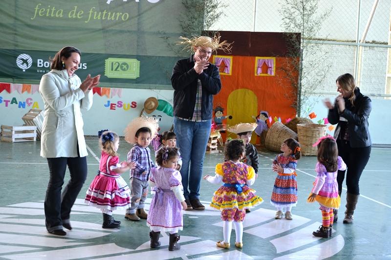 Festa Junina no Bom Jesus Santo Antônio, em Rolândia (PR)