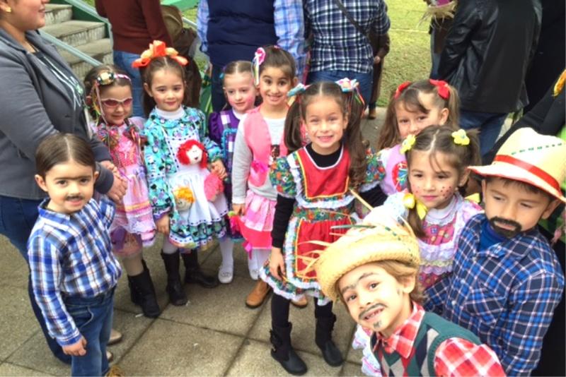 Festa Junina no Bom Jesus Aurora, em Caçador (SC)
