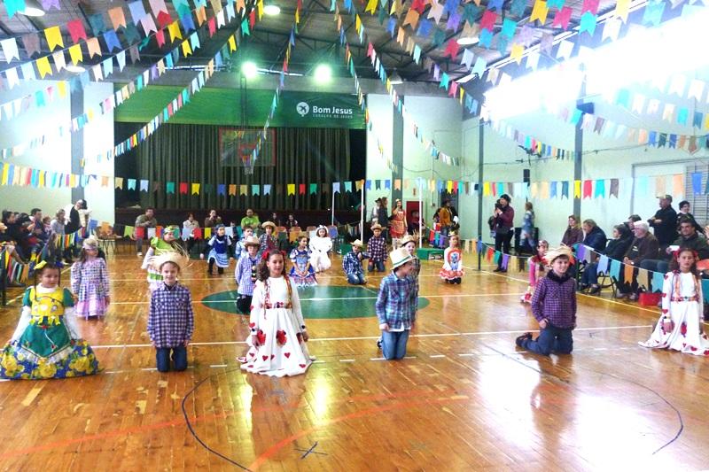 Festa Junina no Bom Jesus Coração de Jesus, em Florianópolis (SC)