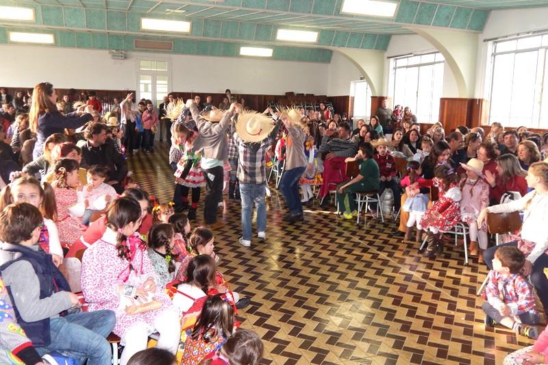 Festa Junina no Bom Jesus São José, em Vacaria (RS)