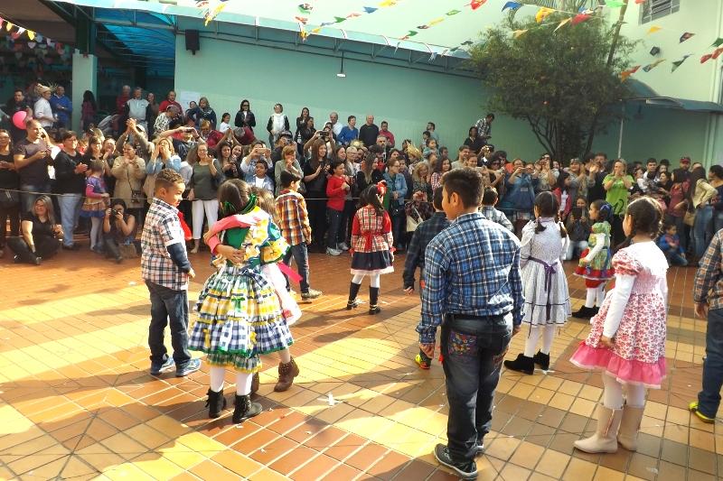 Festa Junina no Bom Jesus Vicente Pallotti, em São Paulo (SP)
