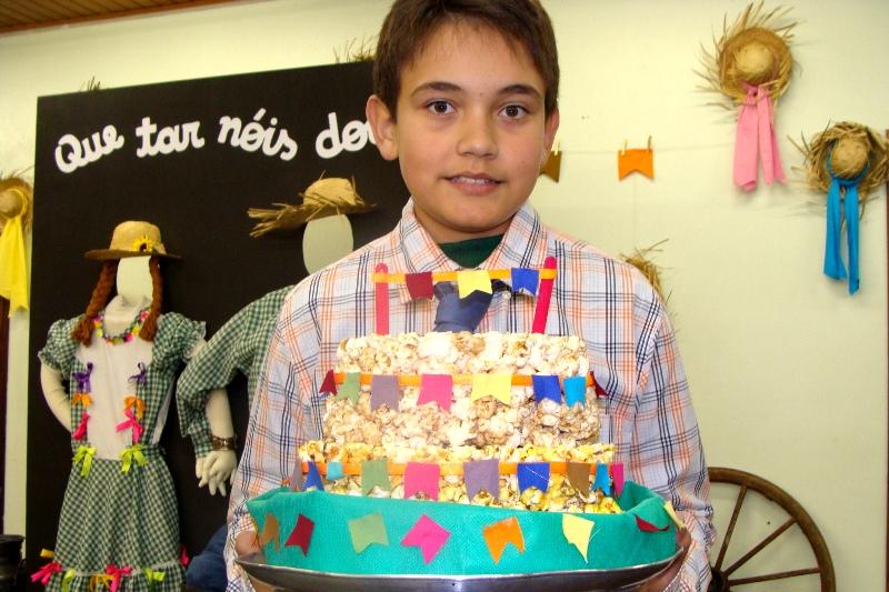 Festa Junina no Bom Jesus Escola Especial, em Campo Largo (PR)