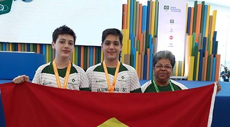 Bom Jesus é ouro e prata nos Jogos Escolares da Juventude
