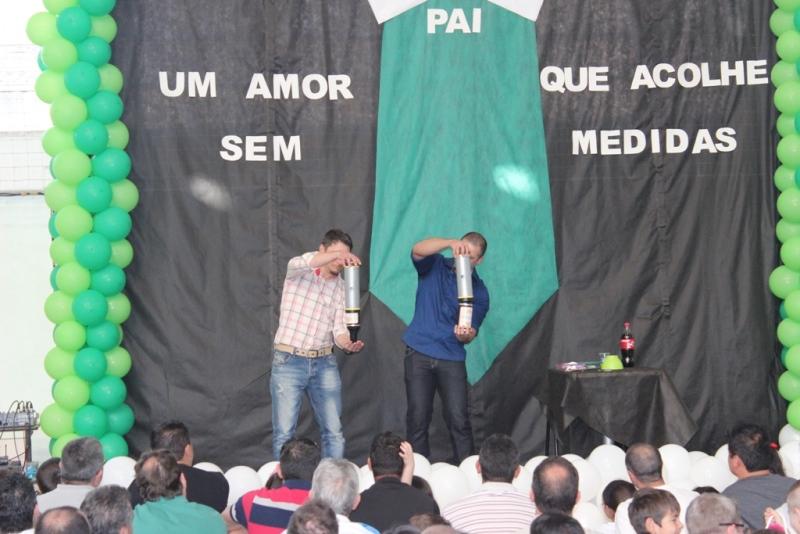 Dia dos Pais no Bom Jesus São José dos Pinhais, no Paraná.