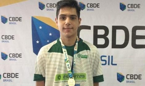 Aluno do Bom Jesus Santo Antônio participará da Gymnasiade 2018