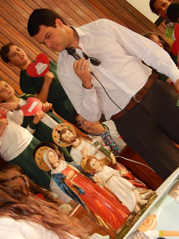 Dia dos Pais no Bom Jesus São José, em Vacaria (RS).