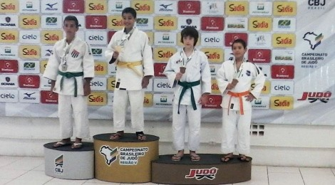 Judocas a caminho do Campeonato Brasileiro 2015