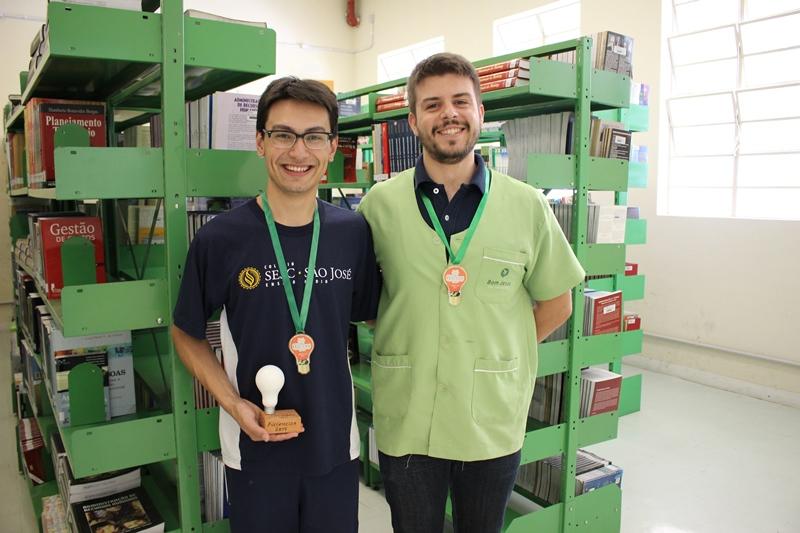 Rodrigo Teleginski Vidal foi orientado pelo professor Jafahr Traya Gondek.