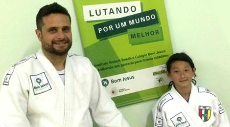 Atleta de Curitiba vai para o Sul-americano de Judô