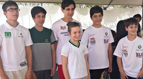 Blumenau tem campeões no Brasileiro de Xadrez Escolar
