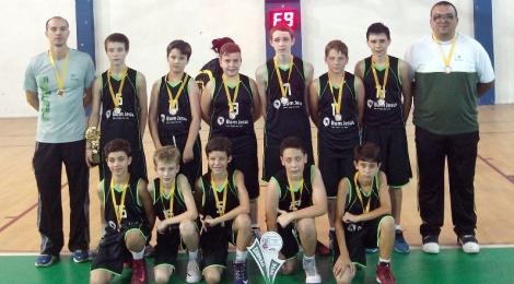Basquete de Jaraguá do Sul é campeão do Estadual Sub-12 Masculino