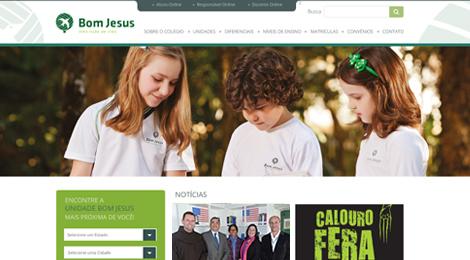 O site do Bom Jesus está de cara nova!