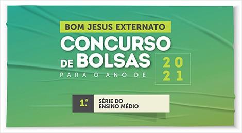 Inscrições prorrogadas: bolsas de estudo no Colégio Bom Jesus Externato