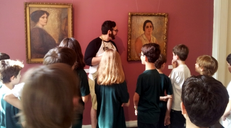 Museu Alfredo Andersen expõe obras de alunos do Bom Jesus