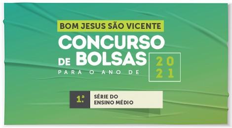 Bom Jesus São Vicente abre inscrições para bolsas de estudo